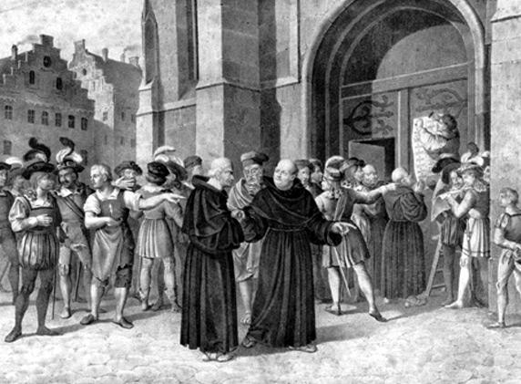 La Réforme luthérienne
