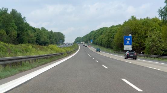 En Allemagne, les autoroutes ont leurs églises