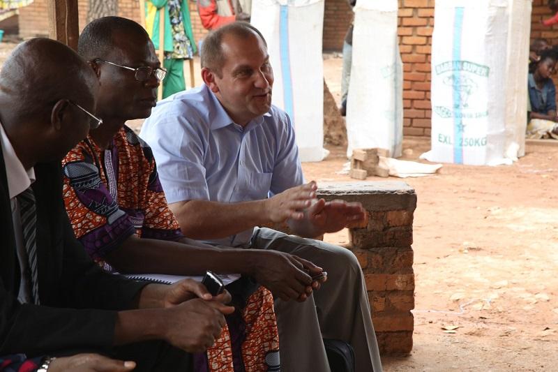Centrafrique : visite de solidarité à Bangui