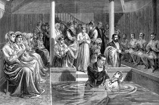 Quelques baptistères baptistes