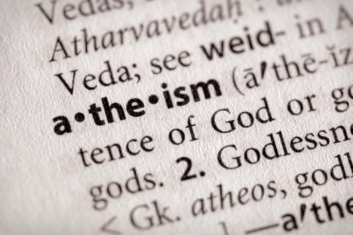 Athée : pas évident pour tout le monde !