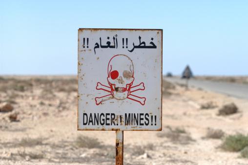 Il invente une machine contre les mines antipersonnel