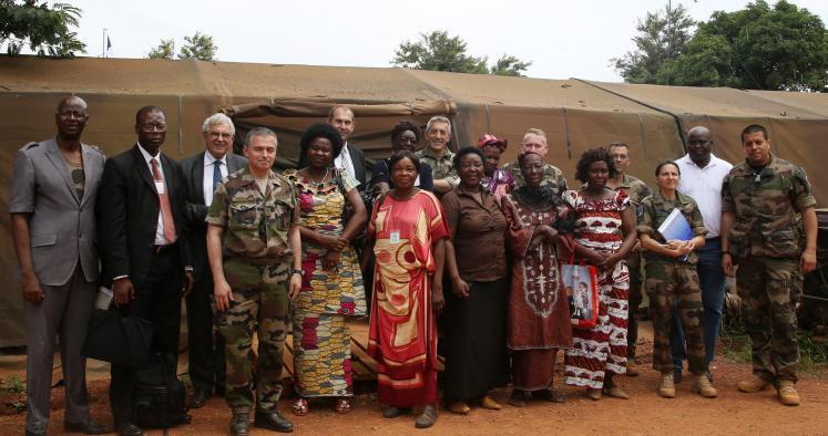 Centrafrique : le soutien des protestants