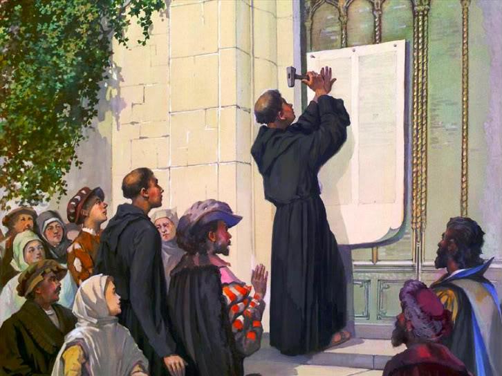 Les Quatre-Vingt-Quinze Thèses (1517) de Martin Luther