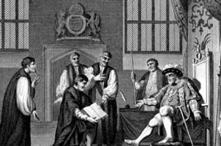 Le protestantisme en Angleterre au XVIe siècle