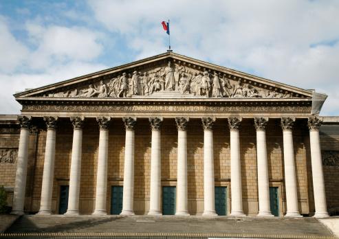 Jeûne devant l'Assemblée Nationale