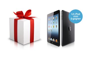 Gagner un iPad mini, ça vous tente ?