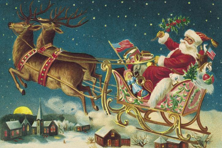 Lui dire que le Père Noël n'existe pas