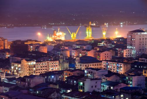Dawei, port birman