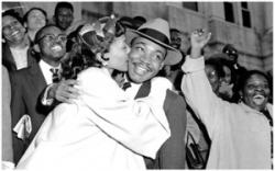 La femme de Martin Luther King, héroïne de La Marelle