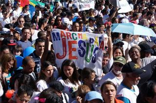 Plus d'un demi-million de personnes ont « marché pour Jésus » à Rio