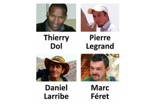 Otages : les familles reçues par François Hollande