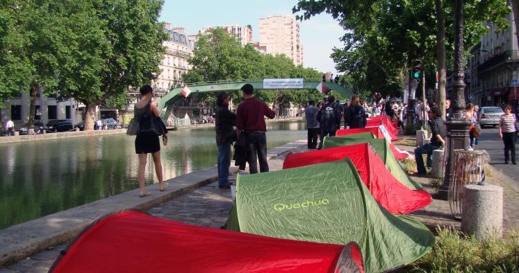 Mal-logement : mobilisation à Paris