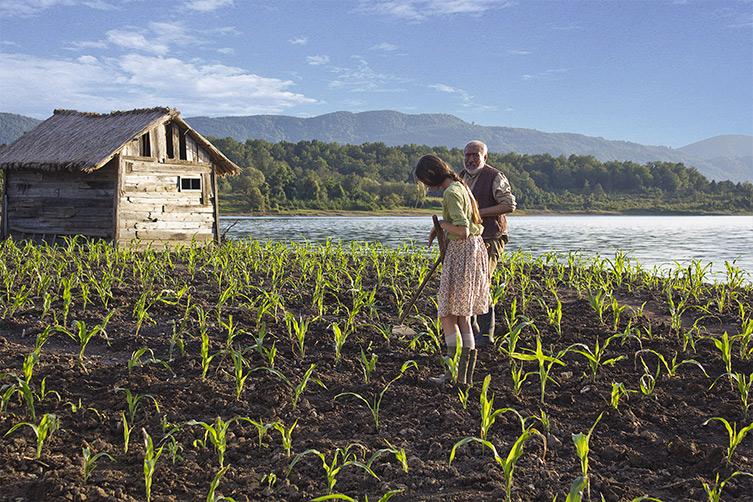 La terre éphémère (Corn Island)